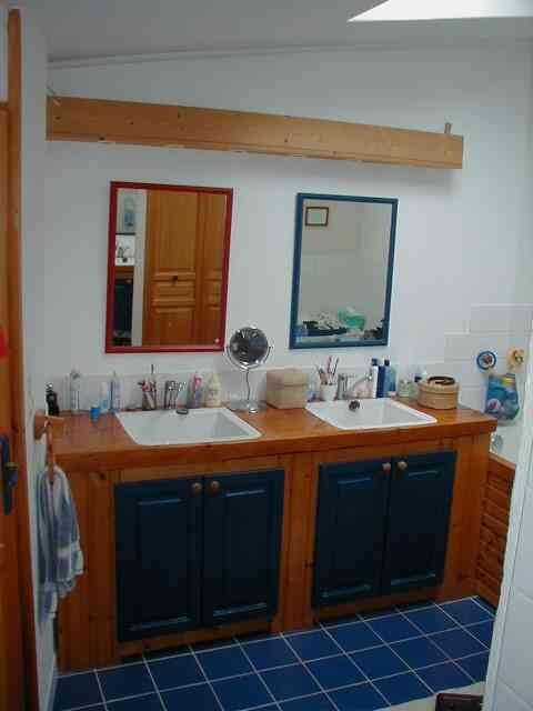 meuble de salle de bain - Salle De Bain En Siporex
